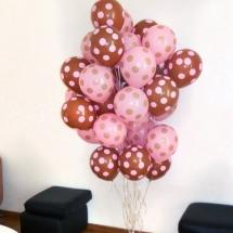 decoração com gás helio 10